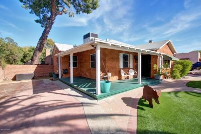 Pima County Single Family Home For Sale: 2107 E Edison Street