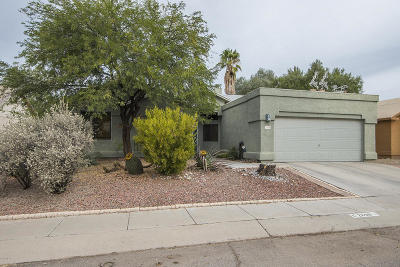 Pima County Single Family Home Active Contingent: 2690 W Camino Llano