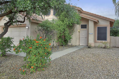 Pima County Single Family Home Active Contingent: 3620 W Mesa Ridge Trail