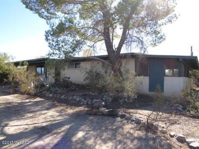 Tucson Single Family Home For Sale: 6310 N Desert Foothills Drive