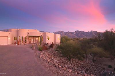 Oro Valley Single Family Home For Sale: 13904 N Placita Meseta De Oro