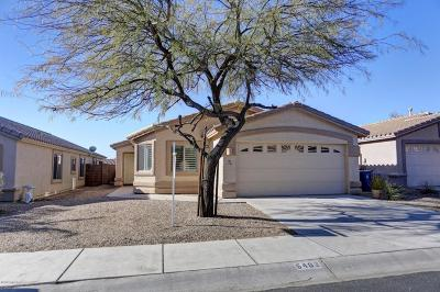 Marana Single Family Home For Sale: 5493 W Silent Dove Way