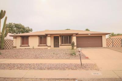 Pima County Single Family Home Active Contingent: 3841 W Orangewood Drive