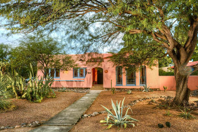 Tucson Single Family Home For Sale: 2705 E 7th Street