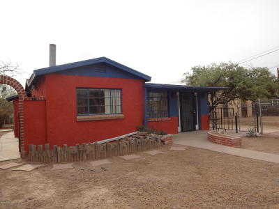 Tucson AZ Single Family Home For Sale: $147,000