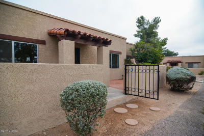 Tucson AZ Townhouse For Sale: $107,500