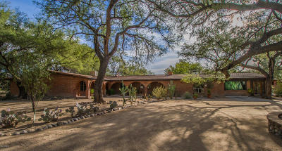 Tucson Single Family Home For Sale: 2730 N Pantano Road
