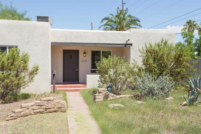 Pima County Single Family Home Active Contingent: 3021 E Lester Street