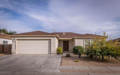 Tucson Single Family Home Active Contingent: 3671 S Double Echo Road