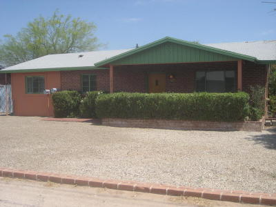 Pima County Single Family Home For Sale: 1619 E Glenn Street
