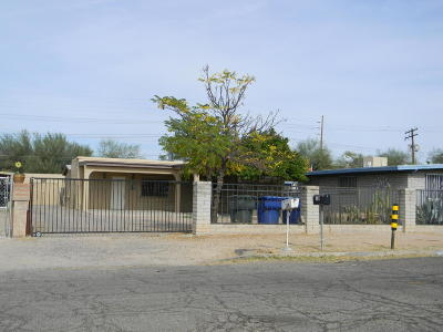 Tucson Single Family Home Active Contingent: 128 W President Street