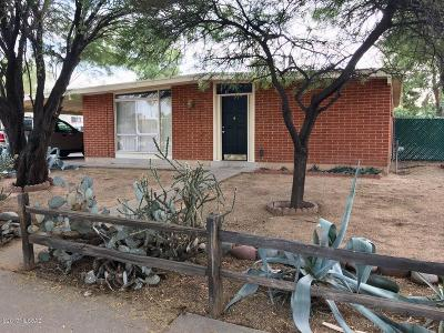 Tucson Single Family Home For Sale: 1412 S Turquoise Vista