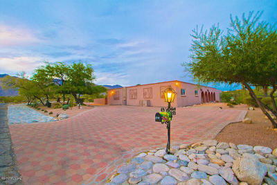 Tucson Single Family Home For Sale: 4740 N Paseo Aquimuri