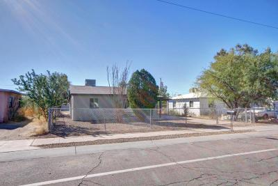 Tucson Single Family Home For Sale: 817 W Glenn Street