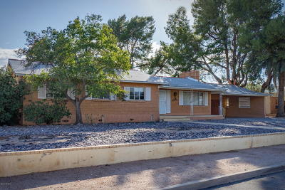 Tucson Single Family Home Active Contingent: 3336 E 4th Street