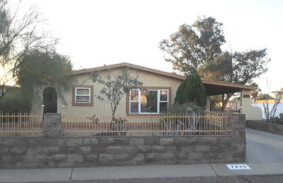 Pima County Single Family Home For Sale: 7425 N Shirley Lane