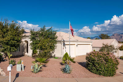 Tucson Single Family Home Active Contingent: 3670 W Bellewood Place