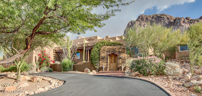 Oro Valley Single Family Home Active Contingent: 1231 E Canada Vista Place