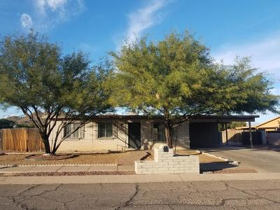 Tucson AZ Single Family Home For Sale: $90,000