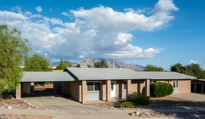 Tucson Single Family Home For Sale: 7900 N Patrick Henry Pl