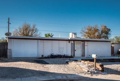 Pima County, Pinal County Single Family Home Active Contingent: 8340 E Pena Blanca Drive