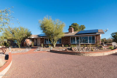 Pima County Single Family Home For Sale: 3333 S Saguaro Shadows Drive