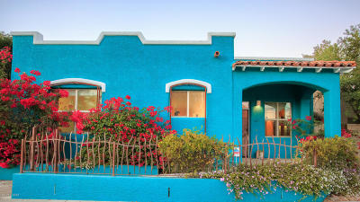 Tucson Single Family Home For Sale: 467 E 16th Street