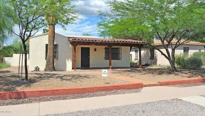 Pima County Single Family Home For Sale: 1709 E Silver Street