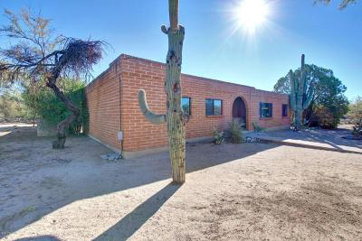 Pima County Single Family Home For Sale: 7342 N Oldfather Road