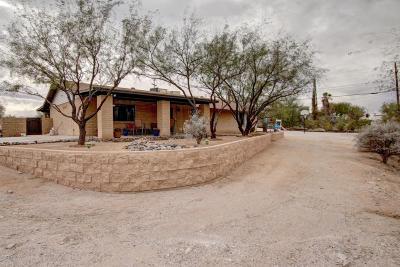 Pima County Single Family Home For Sale: 4701 N Bear Canyon Road