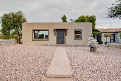 Tucson Single Family Home Active Contingent: 1801 E Silver Street
