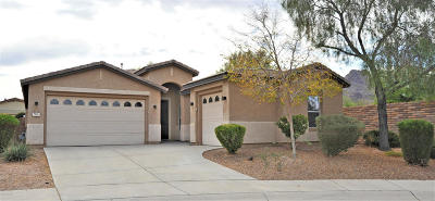 Pima County Single Family Home For Sale: 7635 W Gold Rock Place