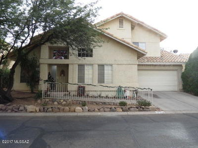 Pima County Single Family Home For Sale: 3741 W Redfield Lane