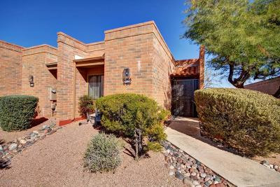 Pima County Townhouse For Sale: 1360 W Desert Hills Drive
