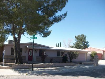 Tucson Single Family Home For Sale: 3590 S Battle Place
