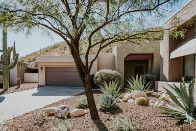 Tucson Single Family Home For Sale: 7254 E Crystal Mist Drive