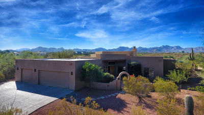 Tucson Single Family Home For Sale: 2810 W Placita Sombra Chula