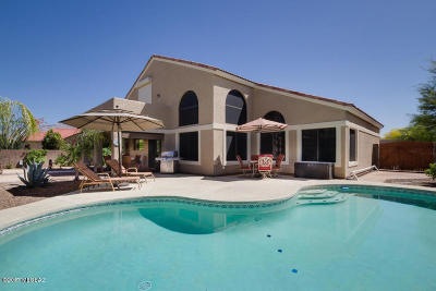 Oro Valley Single Family Home For Sale: 20 W Marble Canyon Road