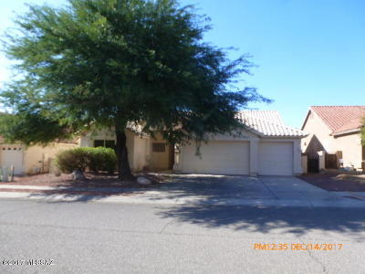 Tucson Single Family Home Active Contingent: 5335 N Ventana Vista Road