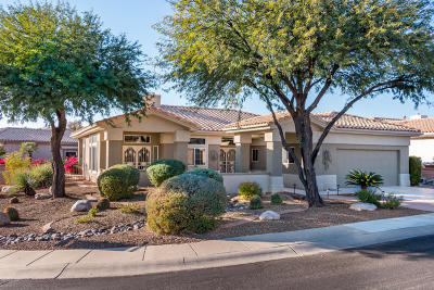 Oro Valley Single Family Home Active Contingent: 14715 N Desert Rock Drive