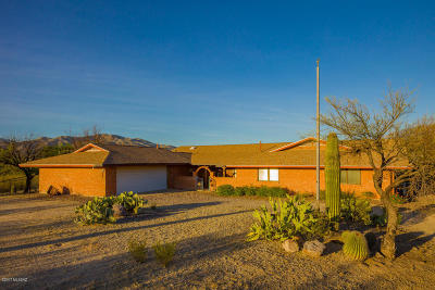 Single Family Home For Sale: 12650 E Speedway Boulevard