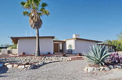 Tucson Single Family Home For Sale: 2314 W Montrose Place N