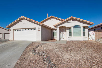 Tucson Single Family Home Active Contingent: 10226 E Buffaloberry Loop