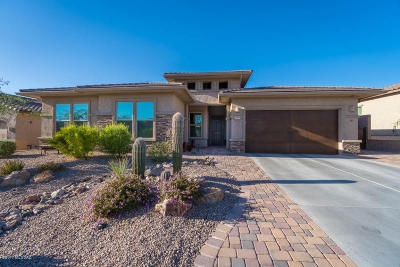 Marana Single Family Home Active Contingent: 6588 W Whispering Windmill Lane