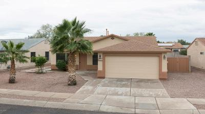 Tucson Single Family Home Active Contingent: 1527 W Breakwell Street