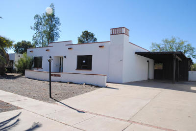 Corona De Tucson, Green Valley, Marana, Mt. Lemmon, Oro Valley, South Tucson, Tucson, Vail Single Family Home For Sale: 417 N Abrego