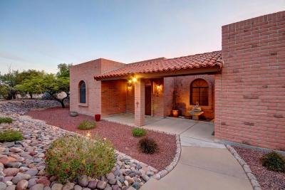 Tucson Single Family Home Active Contingent: 7085 N Circolo Place