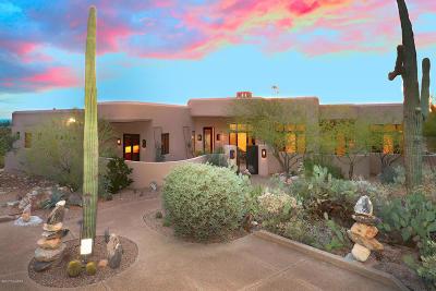Pima Canyon Estates (1-176) Single Family Home Active Contingent: 7789 N Canyon Spirit Way