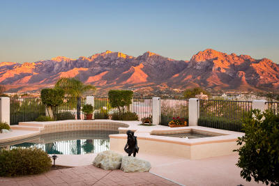 Oro Valley Single Family Home Active Contingent: 10790 N Summer Moon Place
