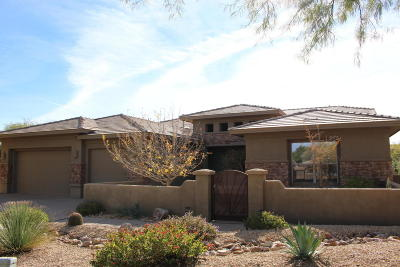 Oro Valley Single Family Home Active Contingent: 13791 N Javelina Springs Place